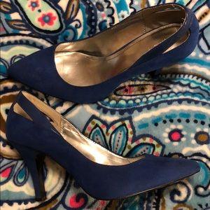 Style & Co. Blue Heels
